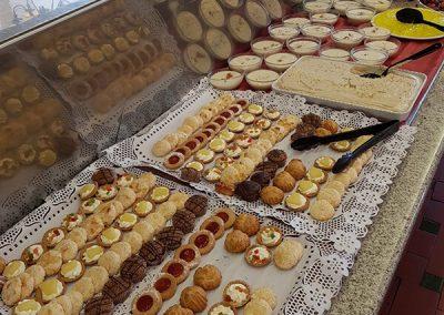Desert buffet
