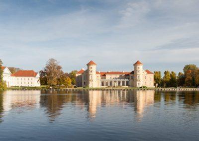 Vakantie met begeleiding Stichting Heinz Reizen Rheinsberg kasteel